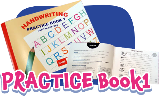 HANDWRITING PRACTIS BOOK 1